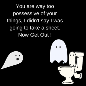 The Ghost That Went Poo